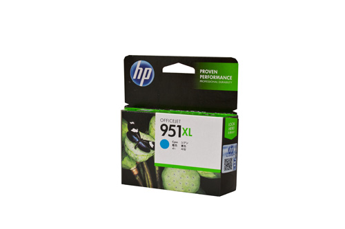 HP #951XL Cyan Ink Cartridge - 1,500 pages